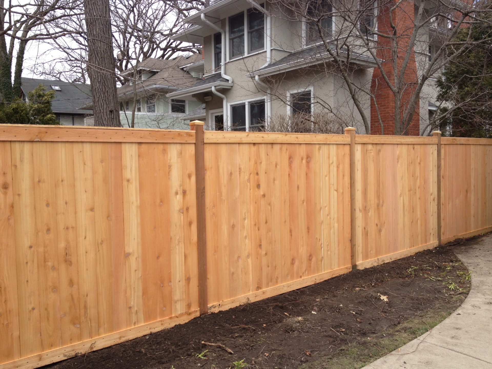 Fencing company fence insallation repairs family