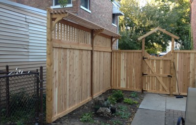 Traditional with Spindals and Decking Boards